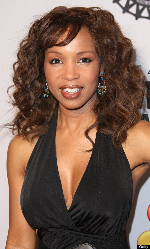 LOS ANGELES, CA - FEBRUARY 16:  Actress Elise Neal attends the 43rd NAACP Image Awards - Nominees' Pre-show Gala Reception on