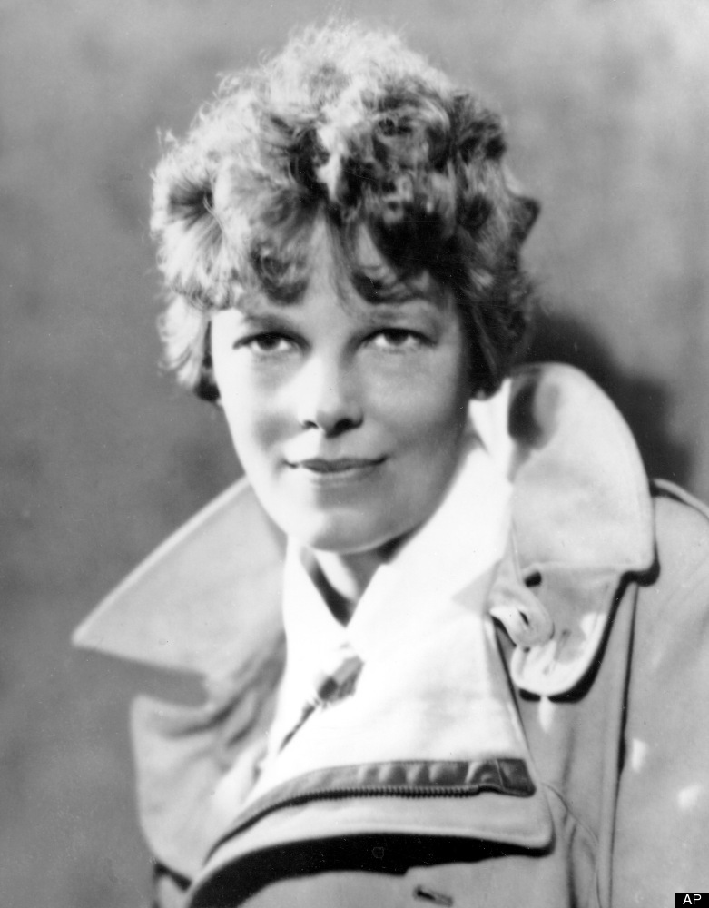 FILE - An undated file photo shows American aviatrix Amelia Earhart. A $2.2 million expedition is hoping to finally solve one