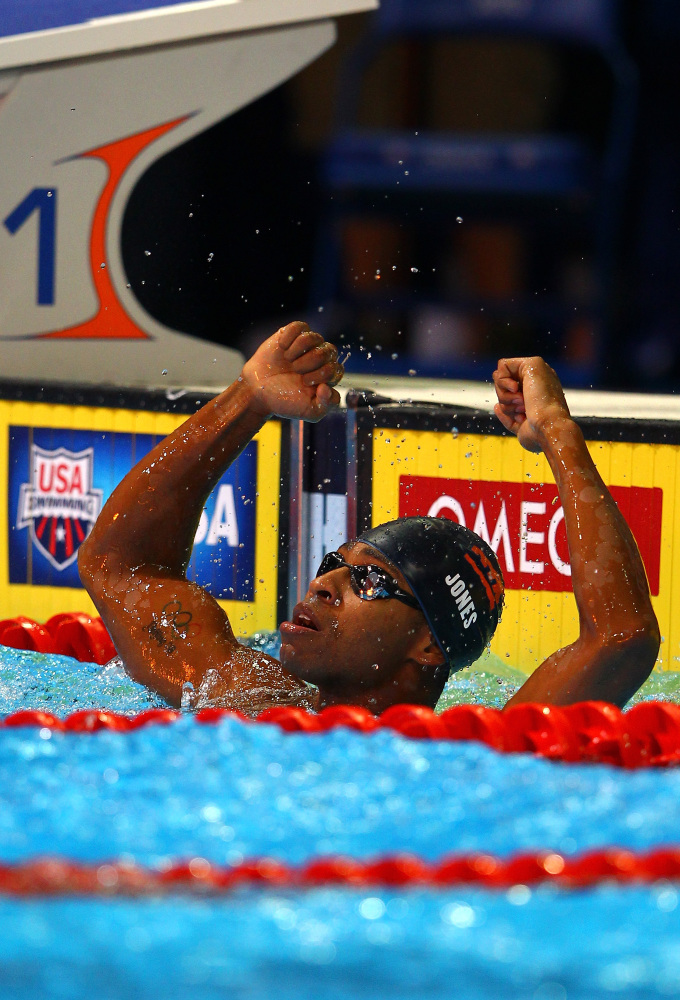 After almost drowning at the age of 5, Cullen Jones made it his goal to conquer the water. Now, at 28 years old, Jones has be