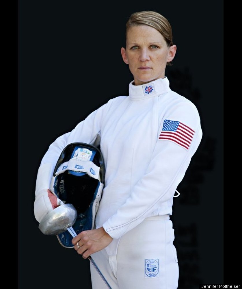 Not only is Kelly an Olympic athlete -- she's also a captain in the U.S. Army. This will be her second trip to the Olympics a
