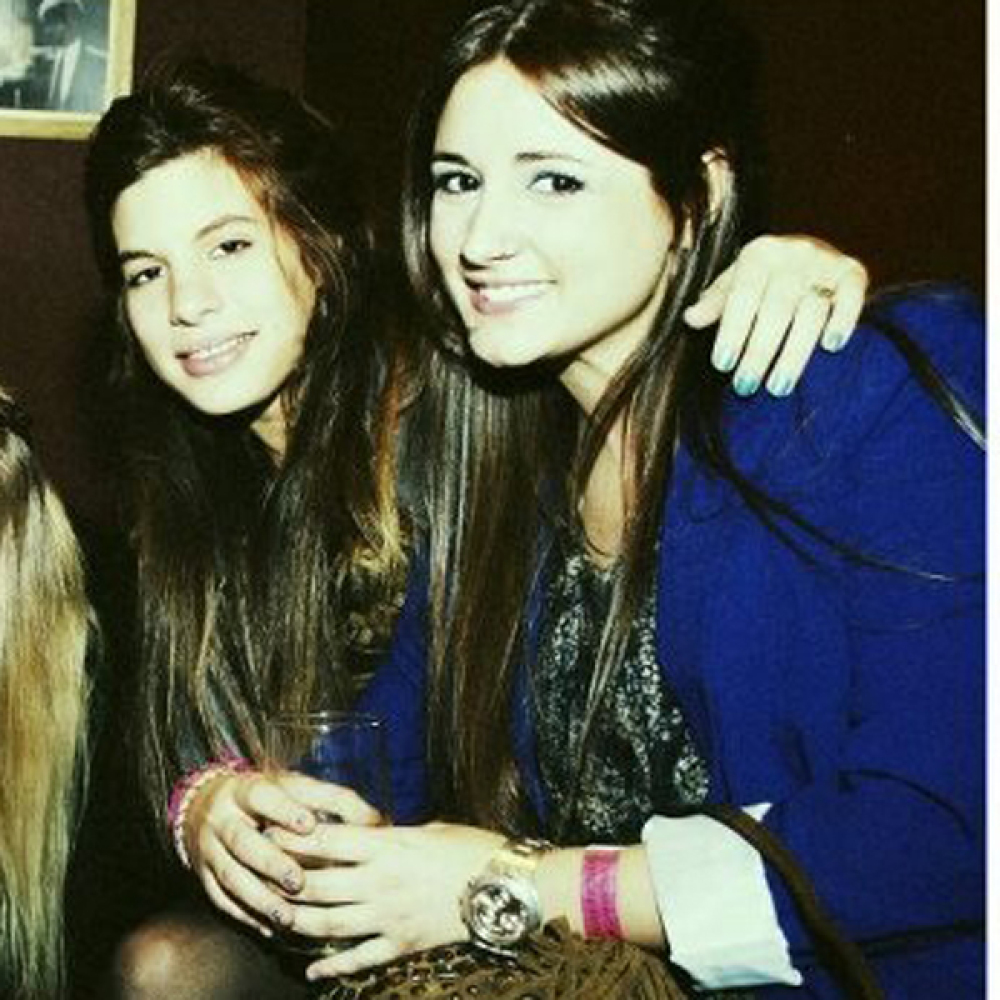 My friends who live in Argentina. Notice the long, straight hair.   (Photo Courtesy of Elizabeth Dosoretz)