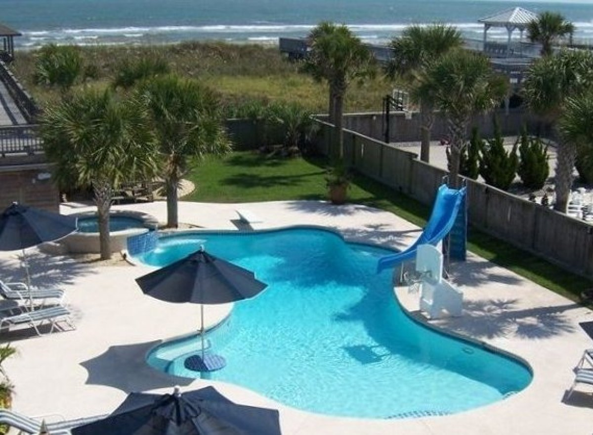 """Host your own Summer Olympics at this <a href=""""http://www.vrbo.com/264411"""" target=""""_hplink"""">Ocean Isle Beach house</a> in Nor"""
