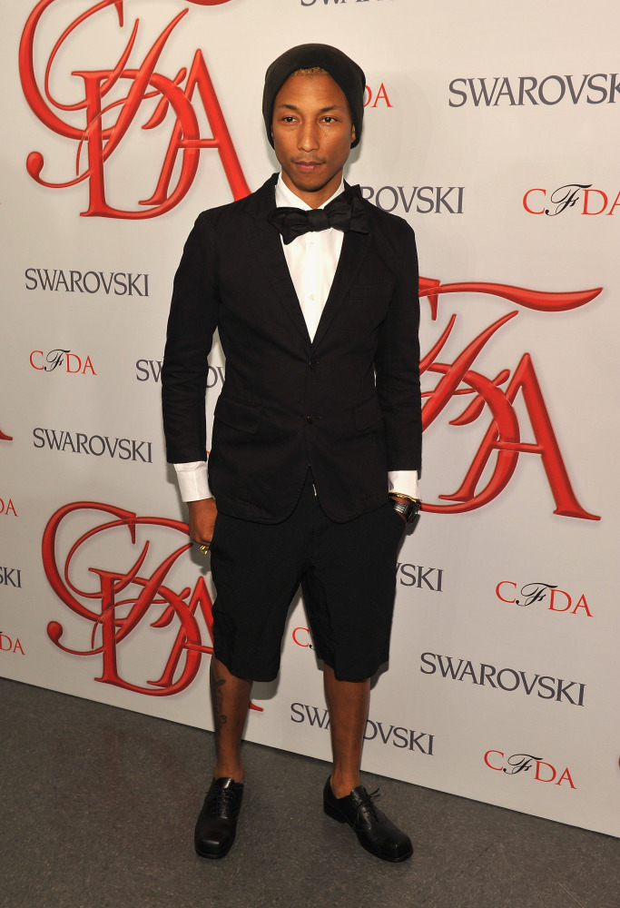 NEW YORK, NY - JUNE 04: Pharrell Williams attends the 2012 CFDA Fashion Awards at Alice Tully Hall on June 4, 2012 in New Yor