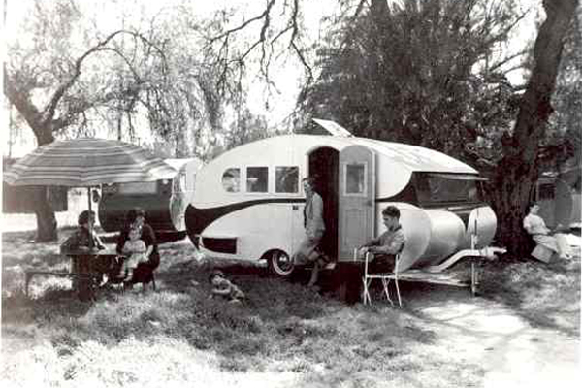 Airstream's first trailers might look oddly plain to those expecting chrome and curves, but the influence of plane constructi