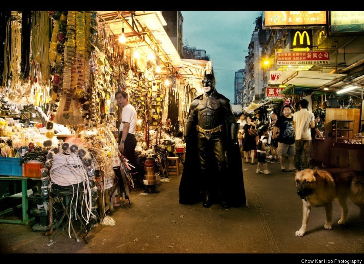 Chow Kar Hoo, 'Heroes Next Door,' Hong Kong.