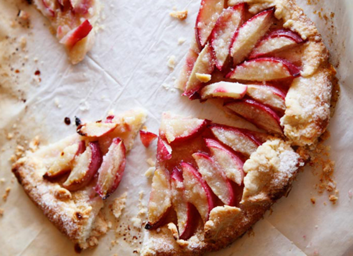 "<strong>Get the <a href=""http://matkonation.com/en/sweets/nectarine-galette/"" target=""_hplink"">Nectarine Galette recipe from"