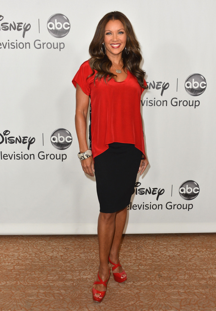 BEVERLY HILLS, CA - JULY 27: Actress Vanessa Williams arrives to the Disney ABC Television Group's 2012 'TCA Summer Press Tou