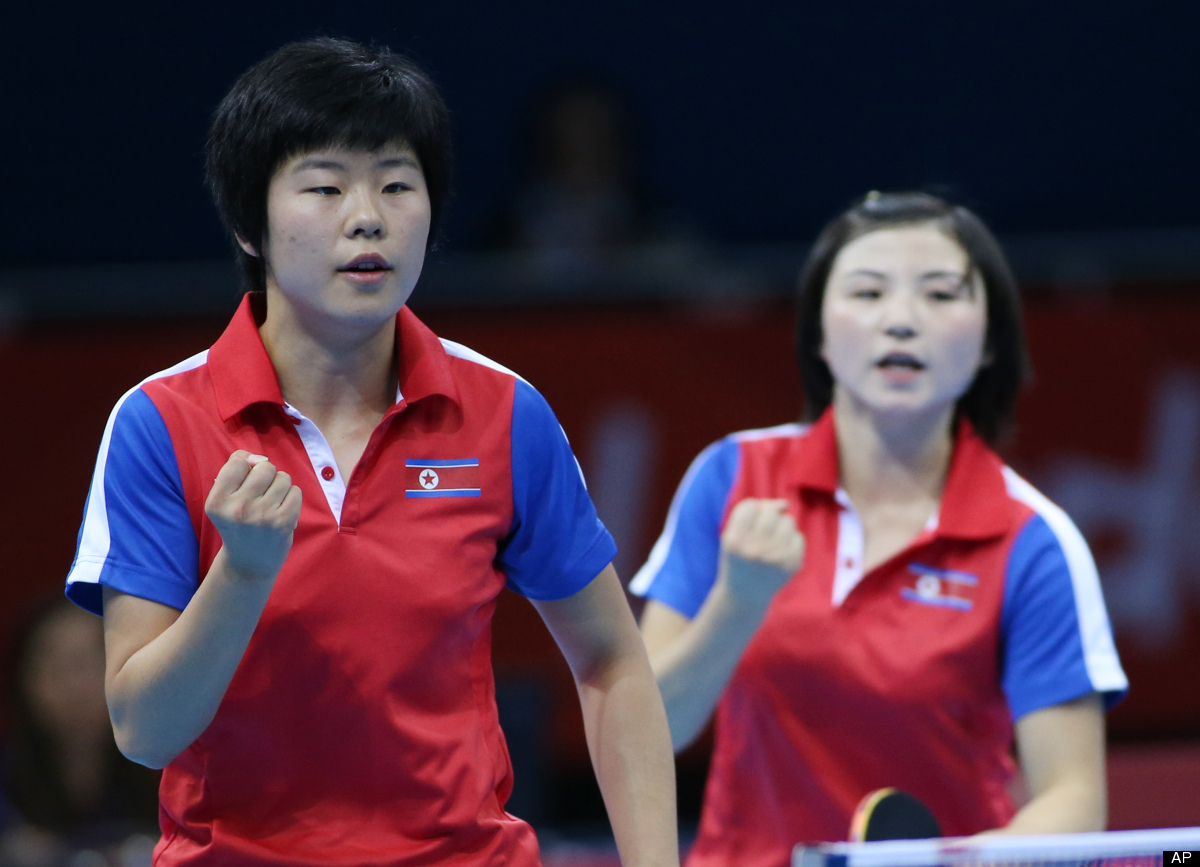 In olympics korea is north the