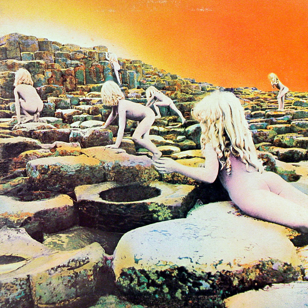 """Led Zeppelin album cover """"Houses of the Holy"""" LP/album cover released 28 March 1973 on Atlantic Records. (GAB Archive / Redfe"""