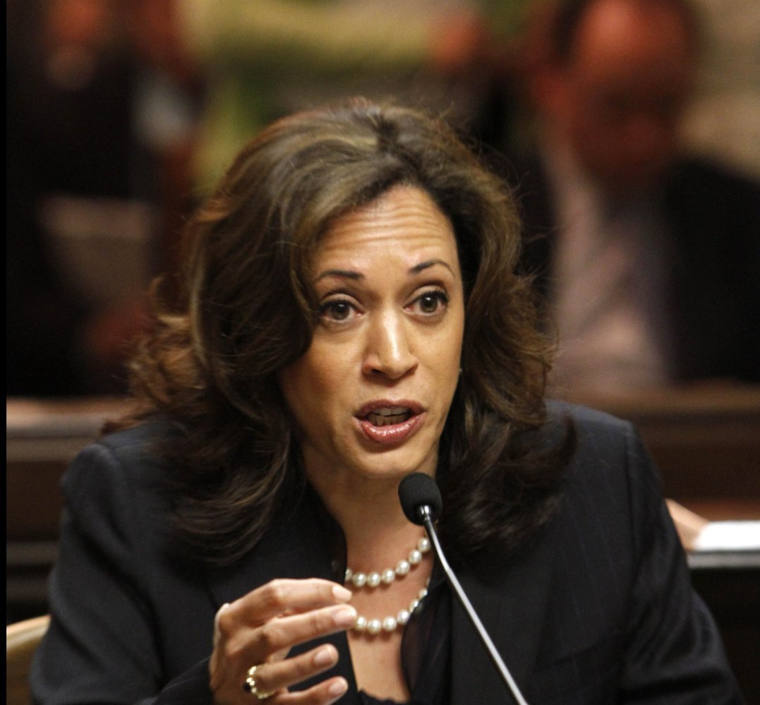 Many people think that Harris, California's popular attorney general, will run for governor -- and maybe even national office