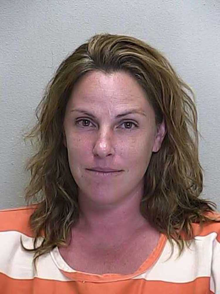 Mandy Ramsey, 35, was charged with fleeing and eluding law enforcement after she allegedly sped away from a deputy attempting
