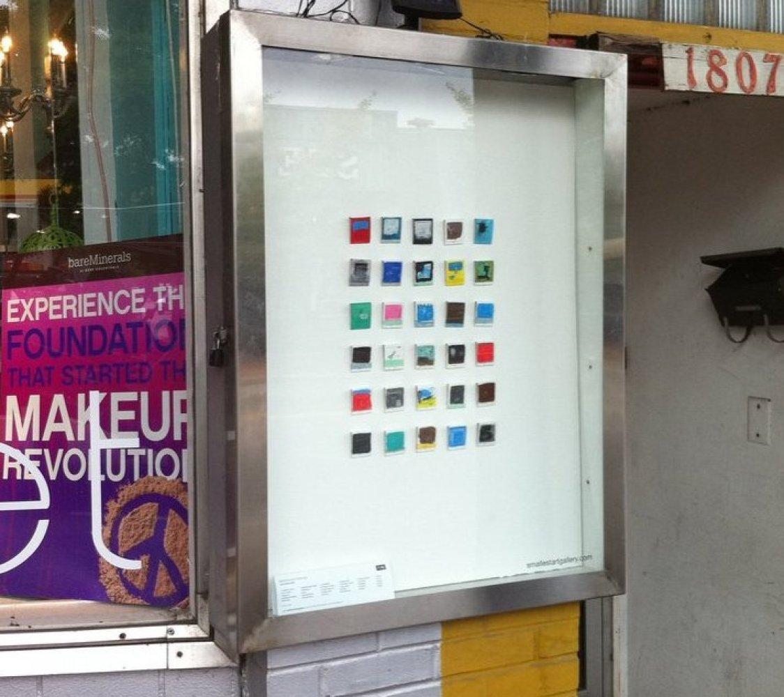 "<a href=""http://www.smallestartgallery.com/"" target=""_hplink"">Nashville's Smallest Art Gallery</a> (NSAG) is the smallest art"