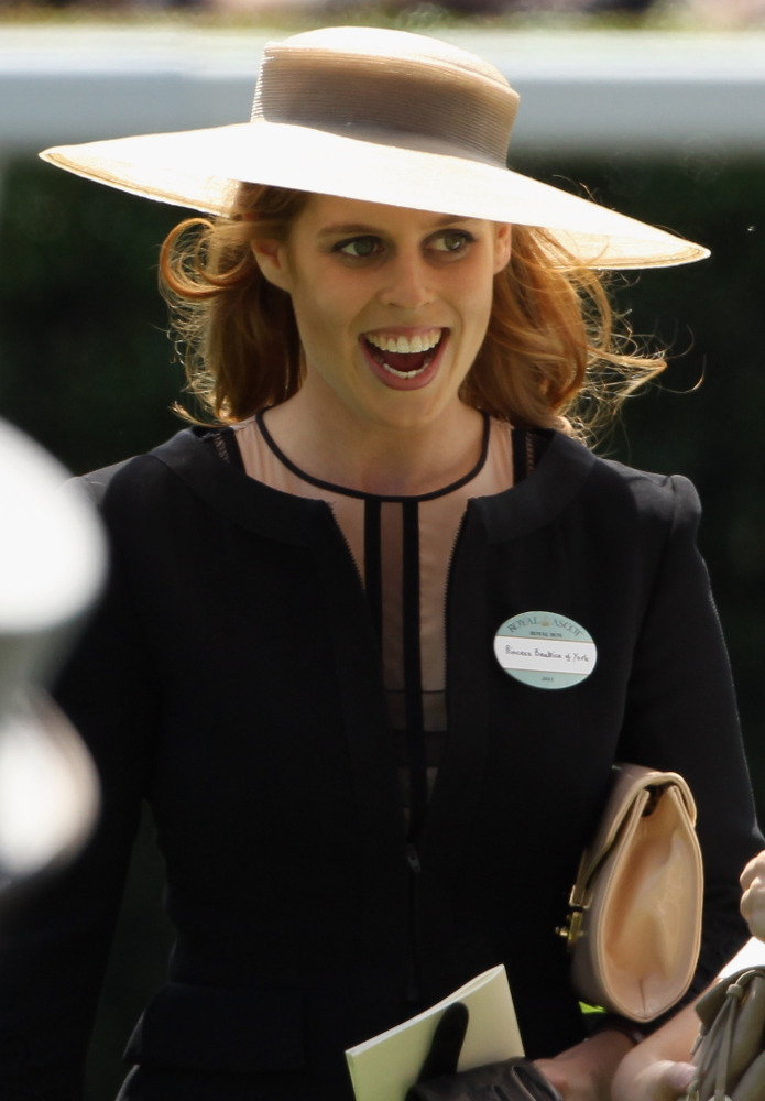 Princess Beatrice at the first day of the Royal Ascot 
