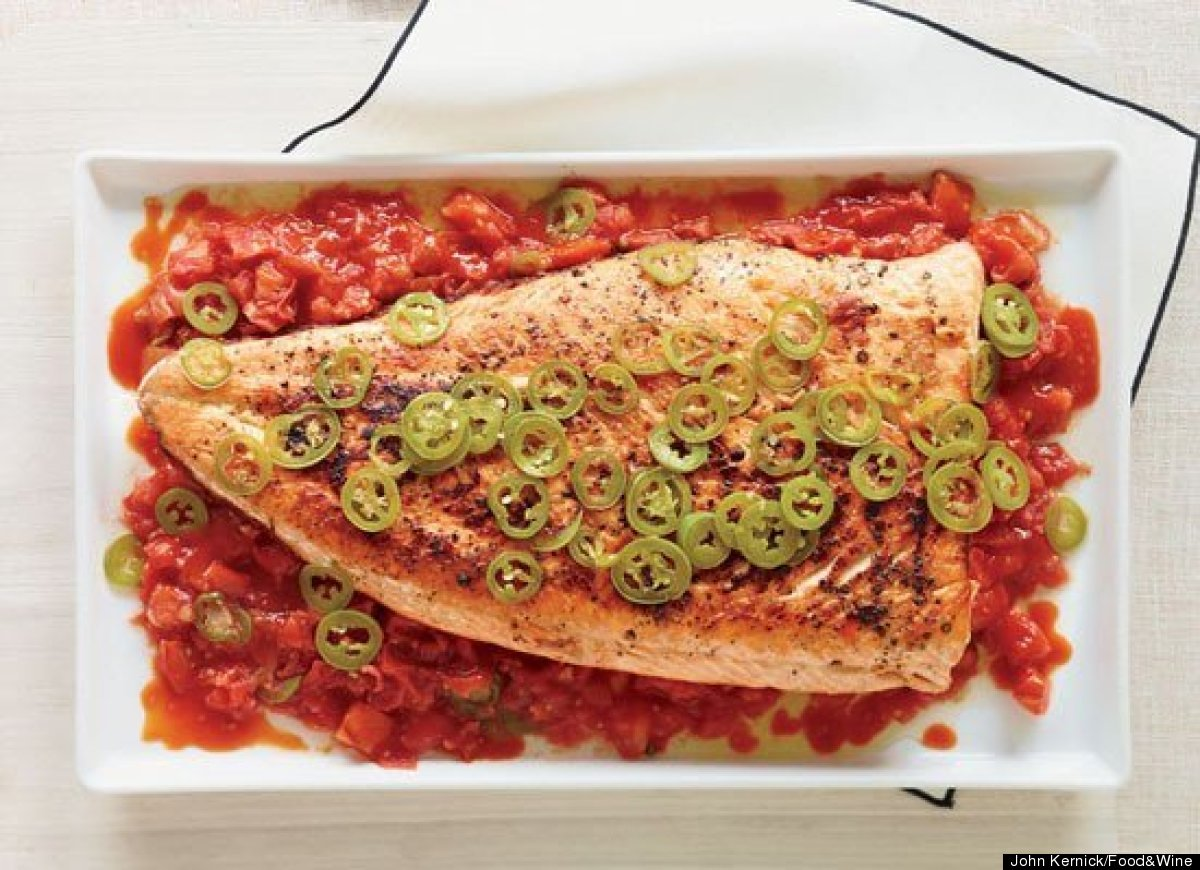 """<strong>Get the <a href=""""http://www.huffingtonpost.com/2011/10/27/grilled-salmon-with-melte_n_1058463.html"""" target=""""_hplink"""">"""