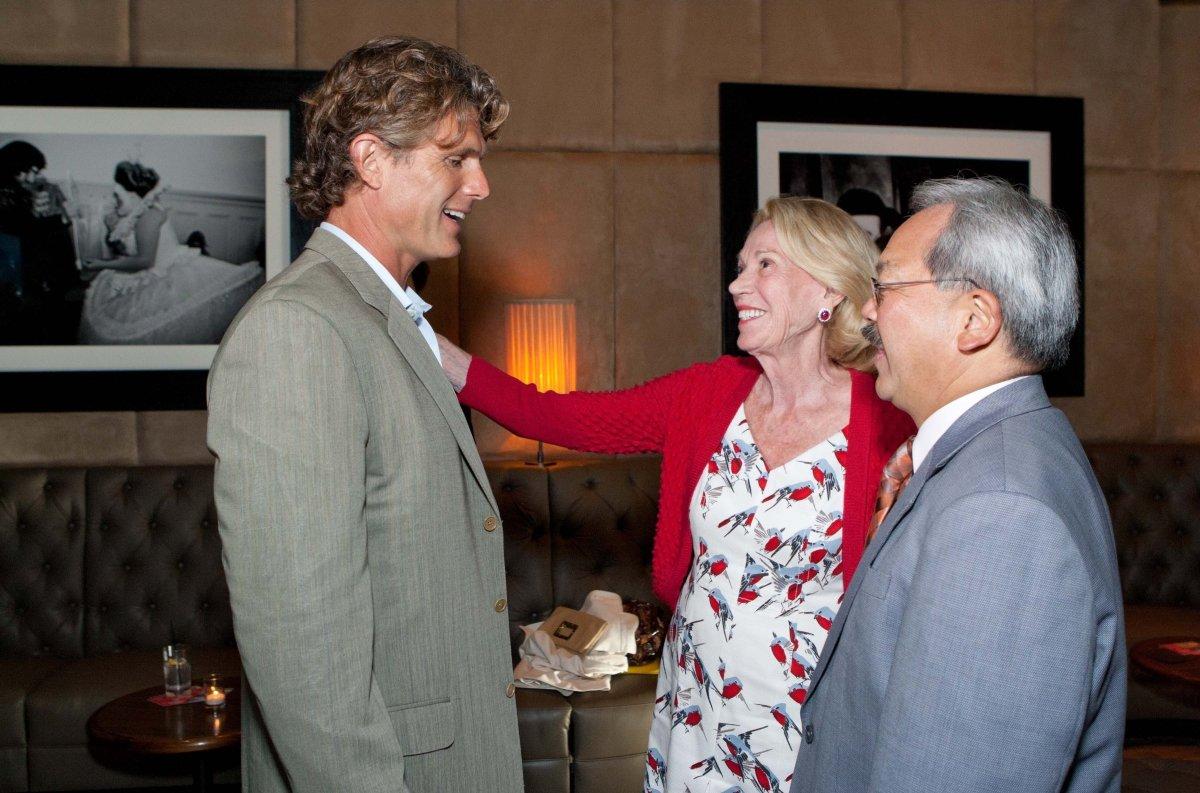 Anthony Shriver, Charlotte Shultz, Mayor Ed Lee