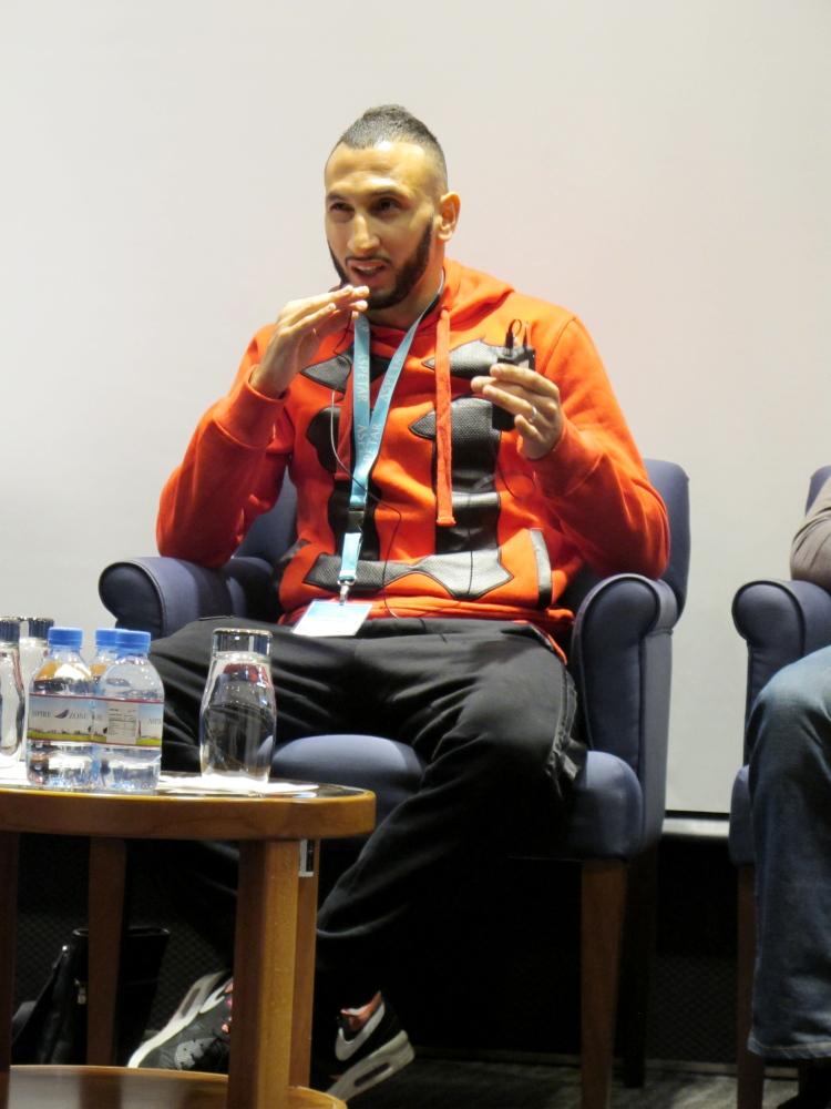 Algerian national football player Nadir Belhadj, now representing Qatar, explained his suspicion that rates of injury could b