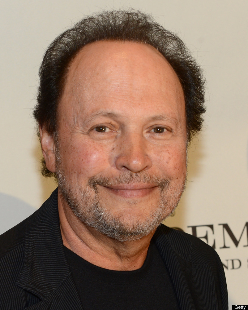 Billy Crystal on the red carpet in 2012.