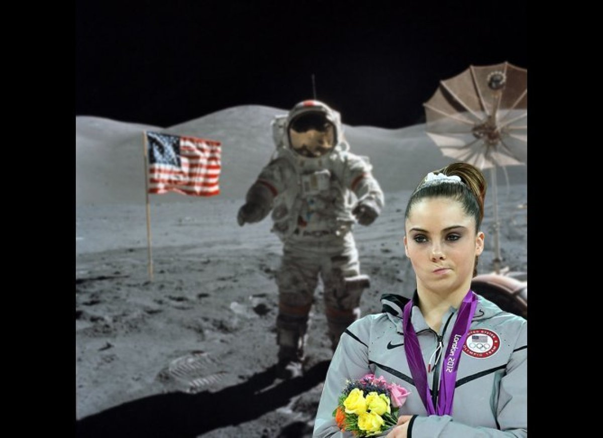 """A photo of American gymnast McKayla Maroney making an """"over it"""" facial expression has swept the internet, and <a href=""""http:/"""
