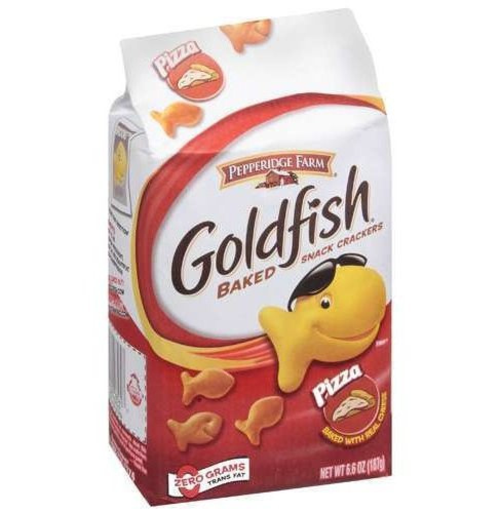 The taste: </strong>Basically, like regular old goldfish but with an ever so subtle tomato flavor that made them seem like a