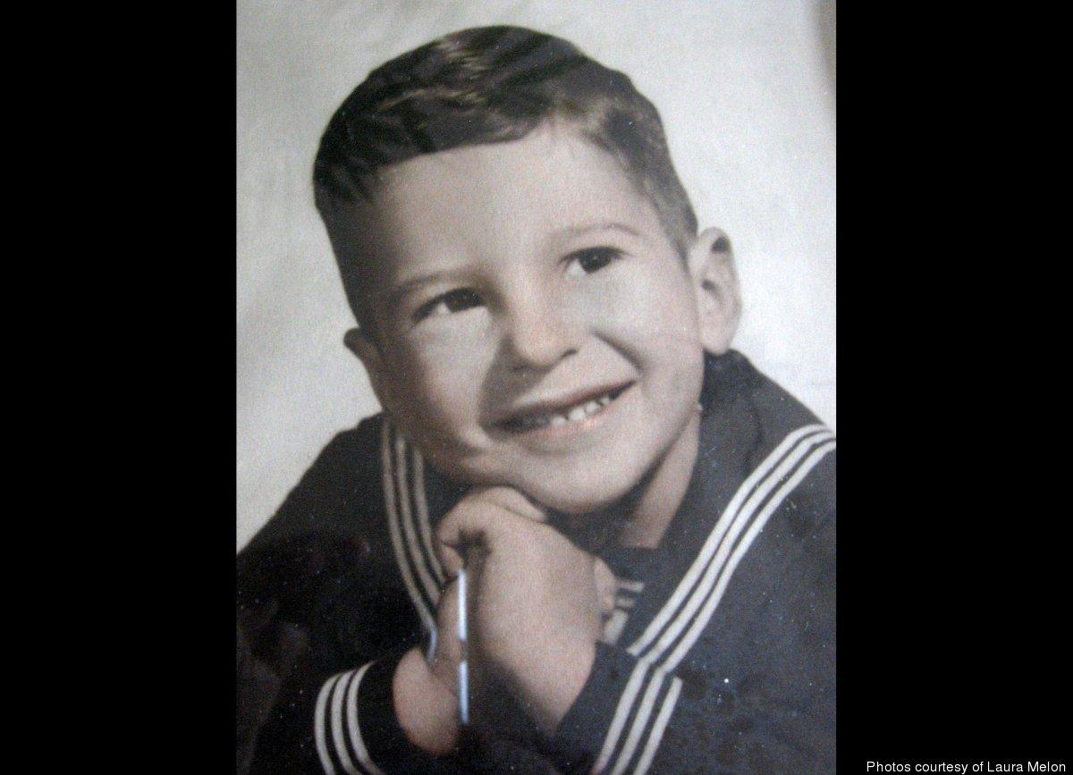 Larry in a sailor suit, 1956.