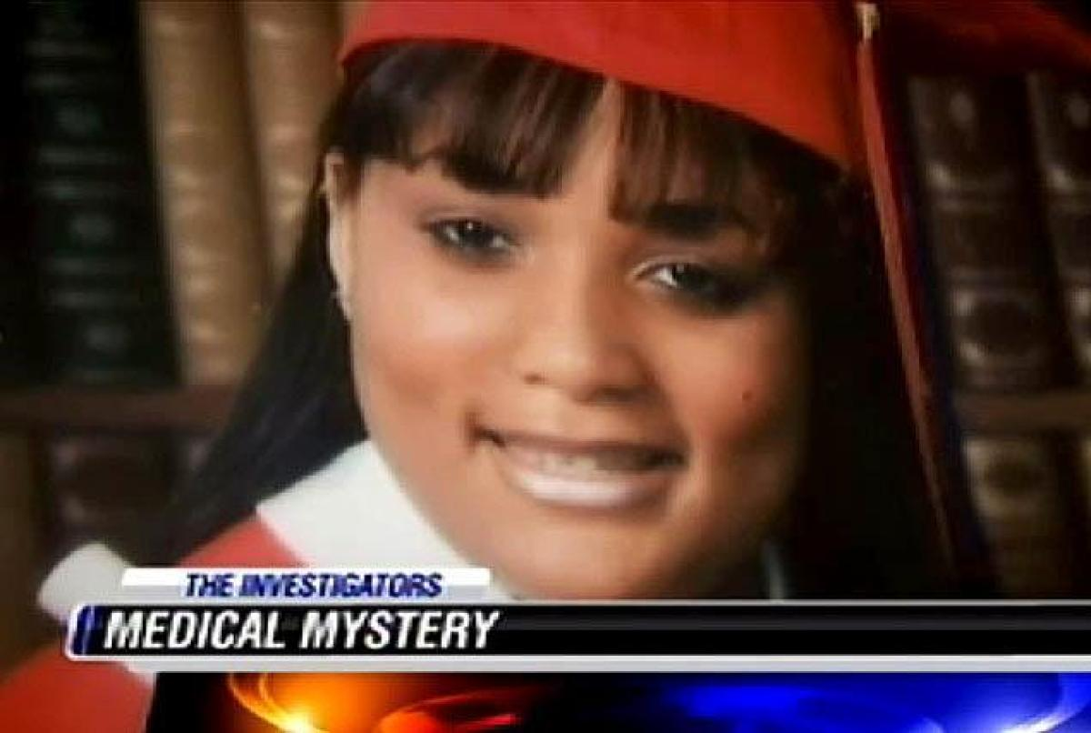 Shanyna Isom was studying criminal justice before her condition began in 2009.