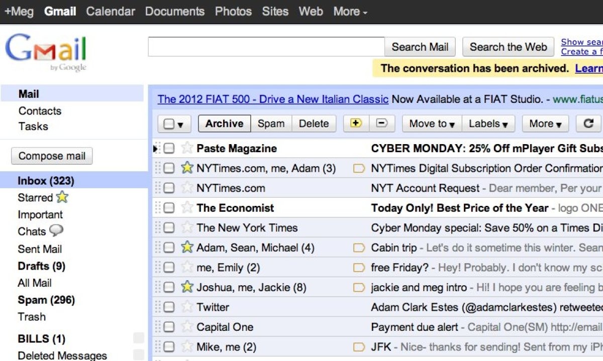 "The now-ubiquitous Gmail -- Google's email product -- was unlike any previous email service when it was introduced <a href=""h"