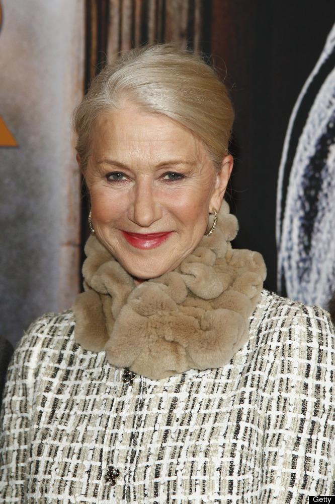 "Imagine: Dame Helen Mirren talking about the ""Real Housewives""; Dame Helen Mirren playing Plead the Fifth; Dame Helen Mirren"