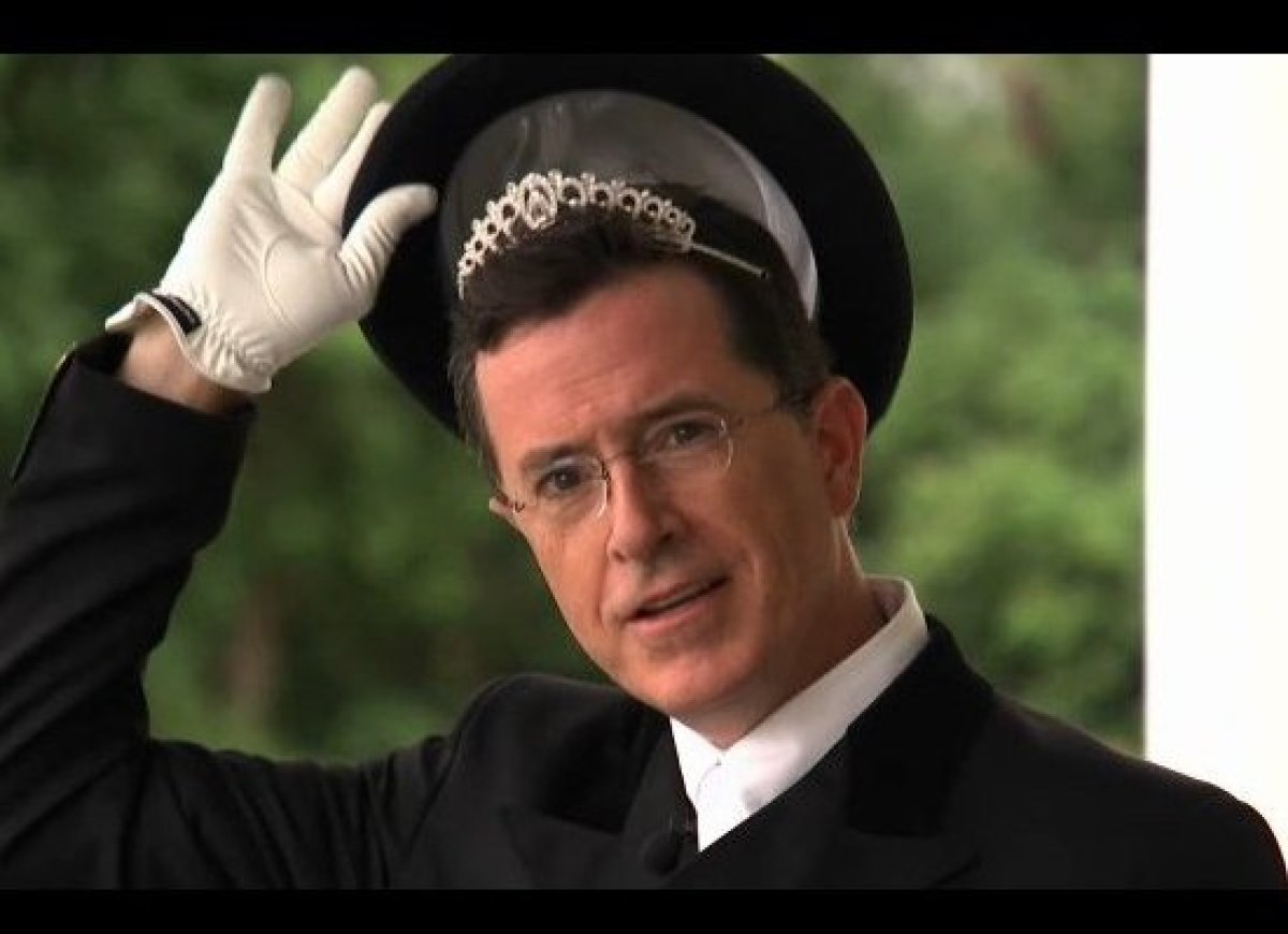 "Back in June, Stephen Colbert <a href=""http://gtcha.me/LJwiKc"" target=""_hplink"">named equestrian dressage the ""Sport of the S"