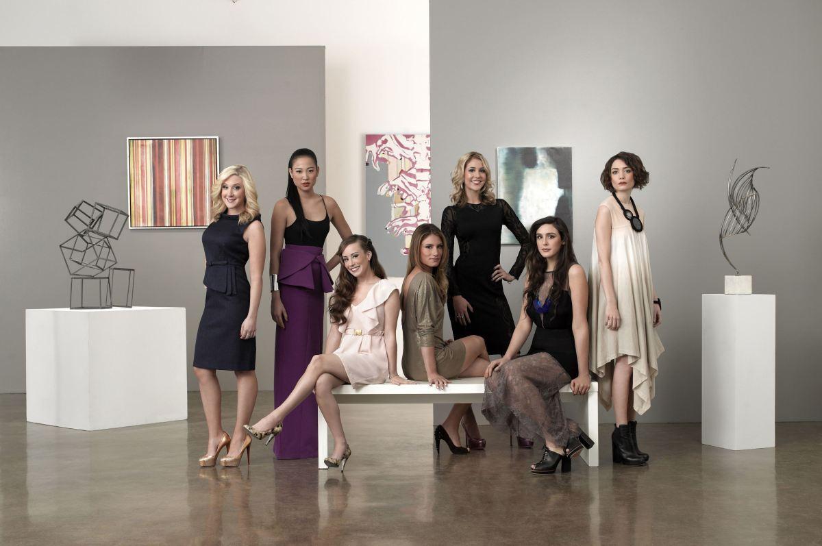Pictured: (l-r) Amy Poliakoff, Angela Pham, Maggie Schaffer, Liz Margulies, Kerri Lisa, Claudia Martinez, Chantal Chadwick --