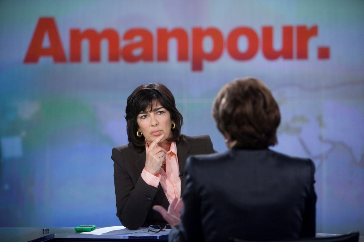 Amanpour splits her time as global affairs anchor at ABC News and chief international correspondent at CNN, making her a grea