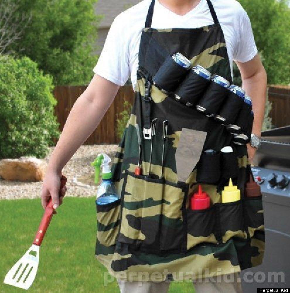 "This is a neat trick: <a href=""http://www.perpetualkid.com/grill-sergeant-apron.aspx?utm_source=gdc&utm_medium=cse&utm_conten"