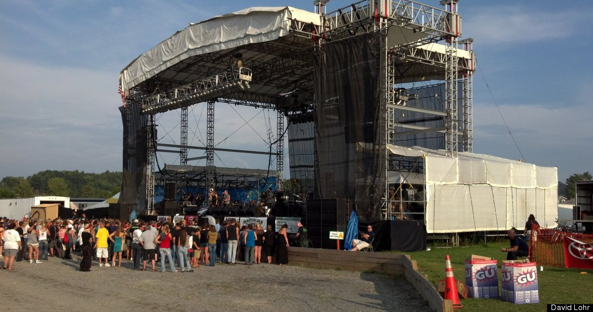 Jac&Jill perform at the 152nd annual Clearfield County Fair in Clearfield, Pa., on August 4, 2012.