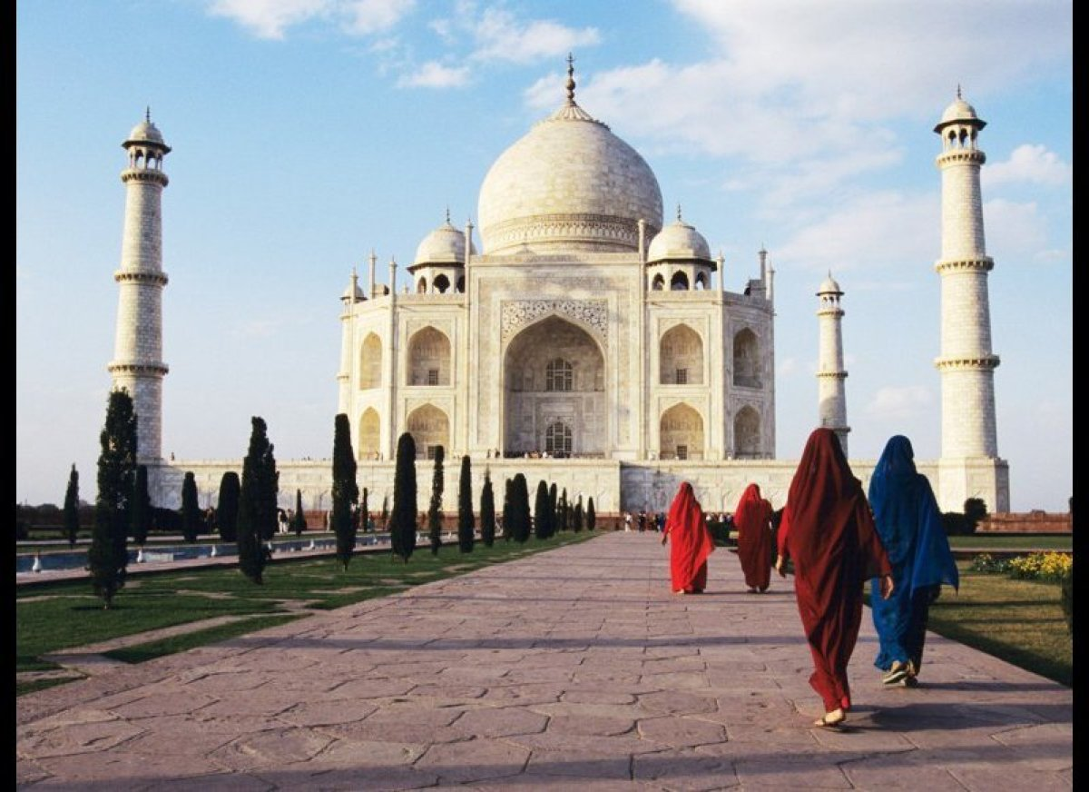 <em>Travel by helicopter (and camel) from the frigid top of the world to the steamy Subcontinent...</em>  Spend nine nights
