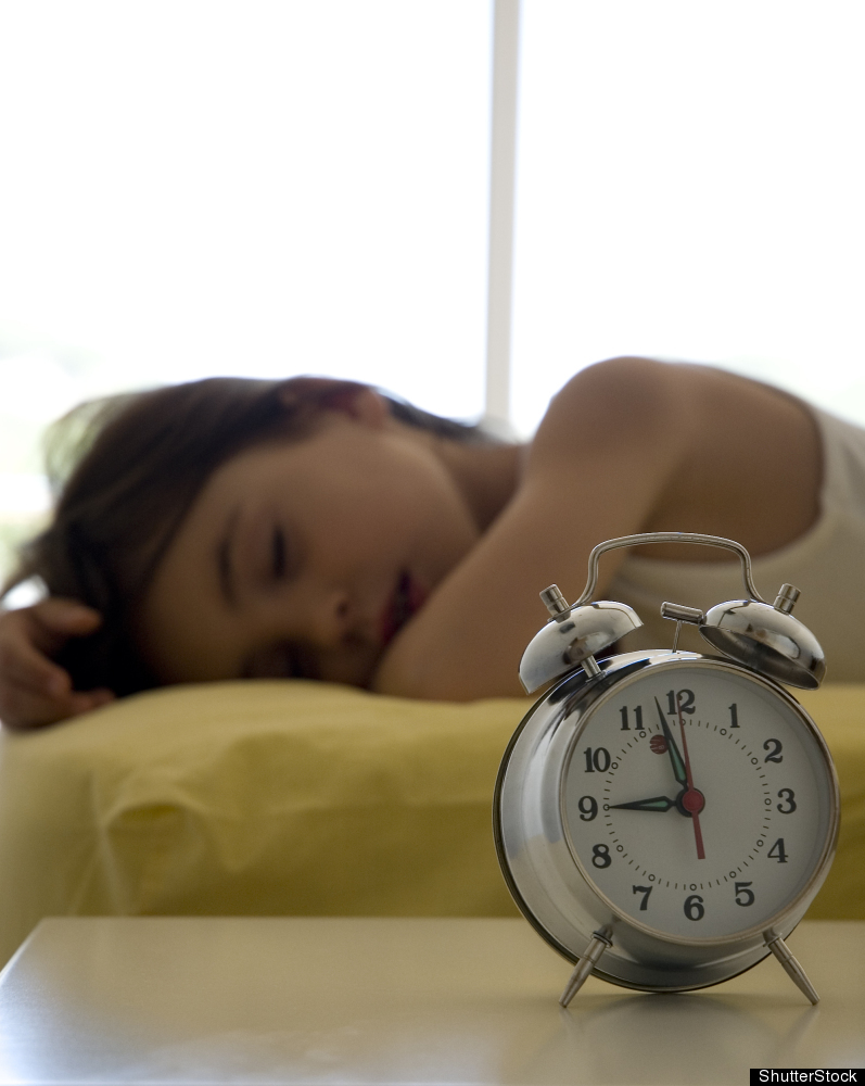 """Rather than jolting the body awake on the first day of school, ease into earlier bedtimes and mornings <a href=""""http://www.sl"""