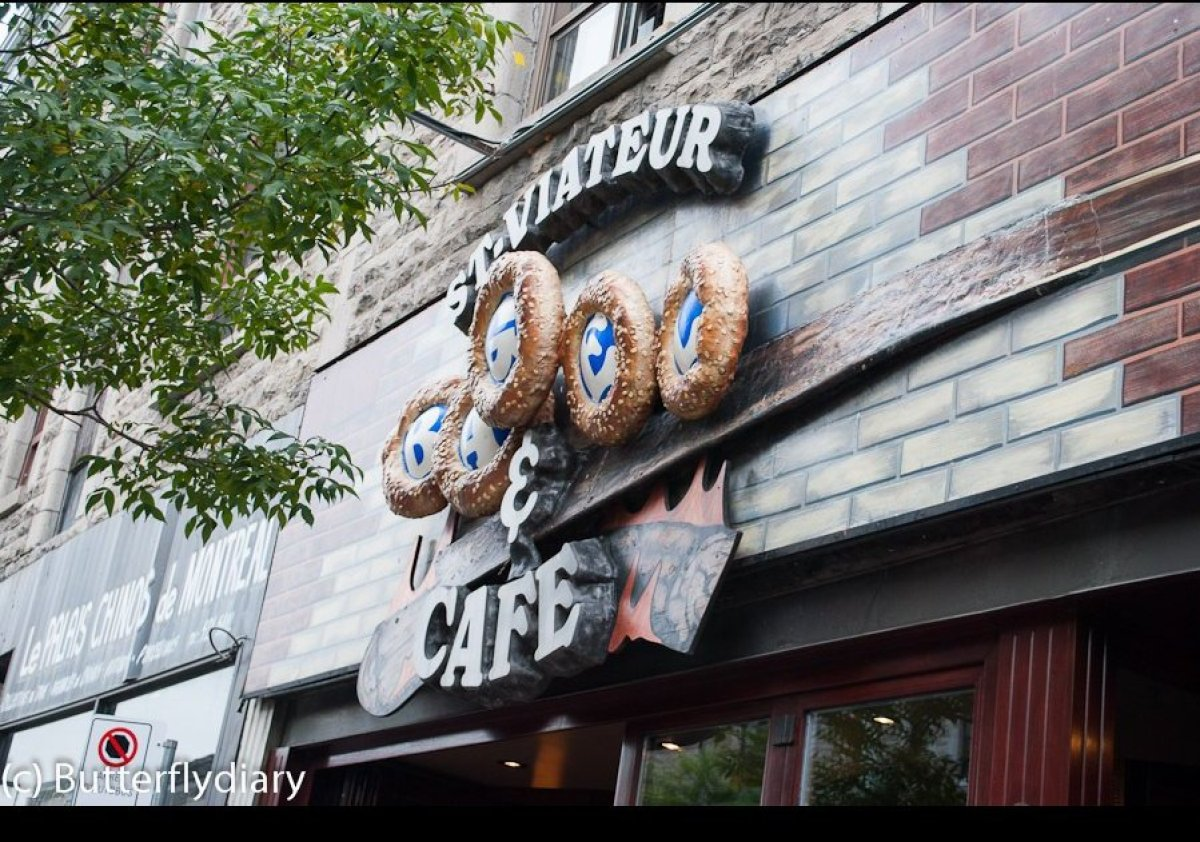 Relatively unassuming from the exterior, St. Viateur is a popular hangout for breakfast and during holidays.