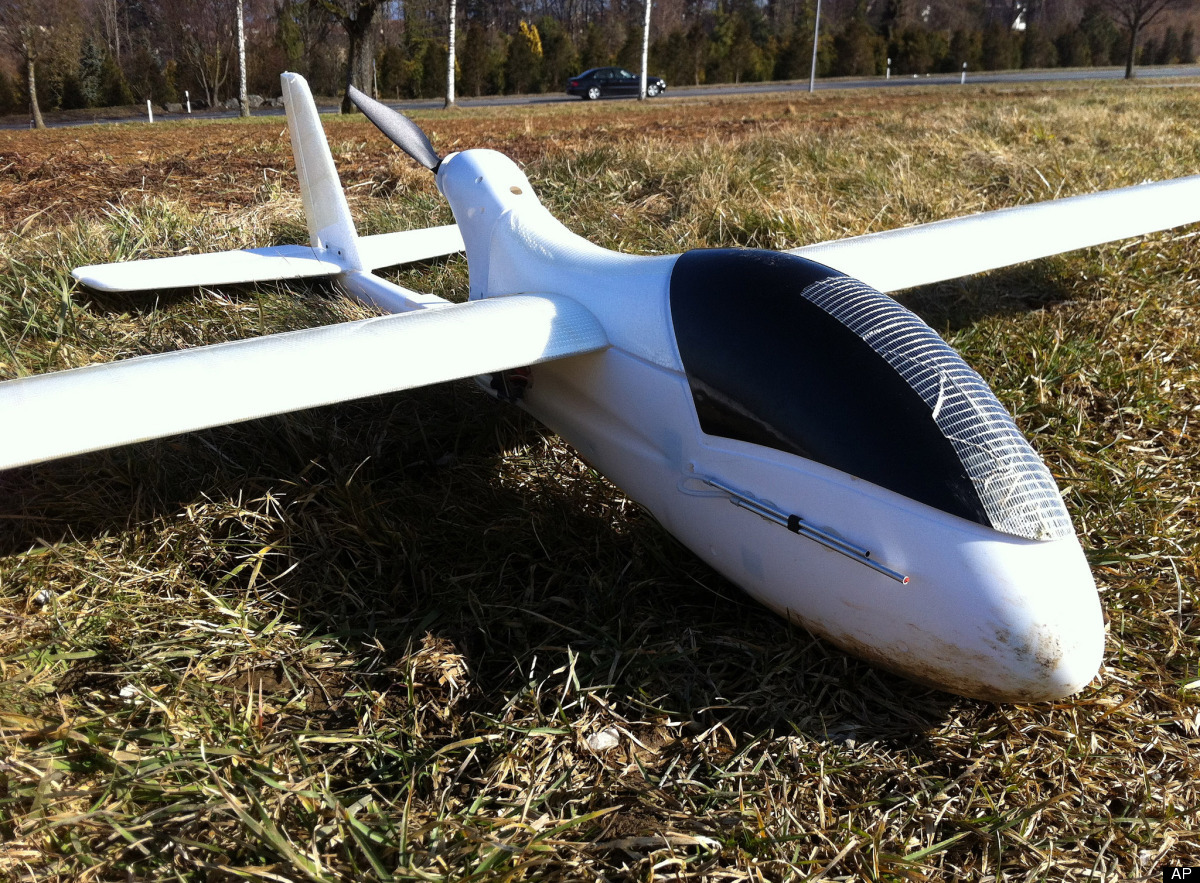 In this March 1, 2012 photo released by ConservationDrones.org., a drone developed by conservation drone pioneer Lian Pin Koh
