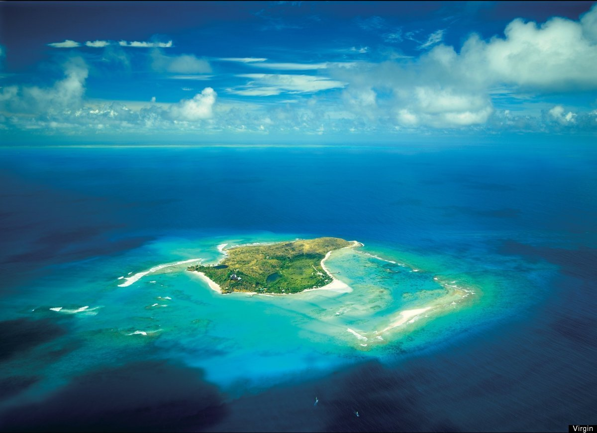 Necker Island--also known as a little piece of heaven--is an island in