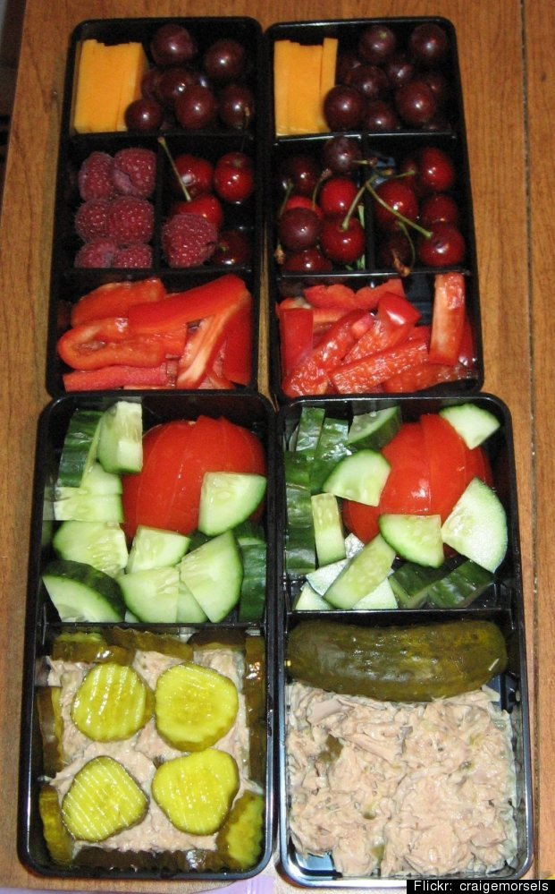 "Fill a bento box with the following, says Dr. Patricia Fitzgerald, <a href=""http://www.huffingtonpost.com/dr-patricia-fitzger"