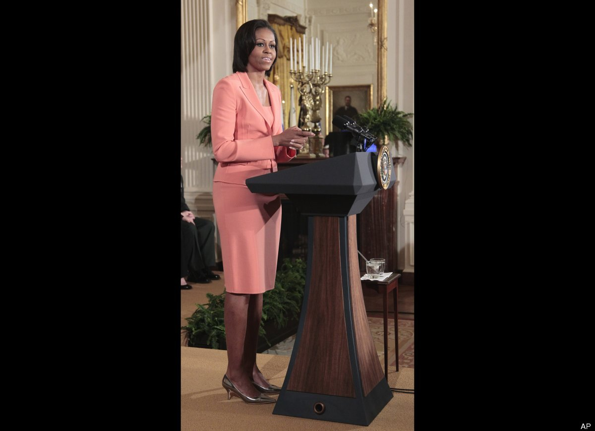 Ever since Michelle Obama first stepped on the political scene back in 2008, she has become a style icon for women all across