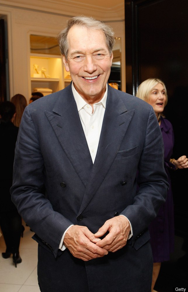 NEW YORK, NY - MAY 22:  Charlie Rose attends the Ralph Lauren celebration for the publication of 'The Hamptons: Food, Family