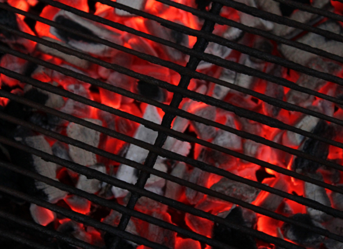 Forget about digging a pit and making all that mess in your backyard -- use a grill. The following methods will show you how