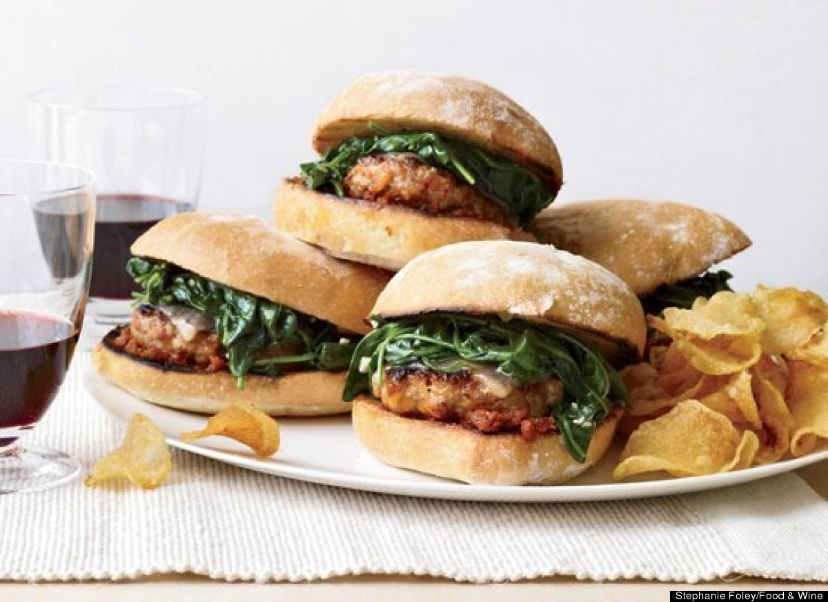 These burgers couldn't be any easier to make -- simply remove sweet or hot Italian pork sausages from their casings and form