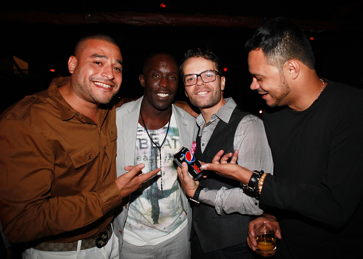 A.L, Michael K Williams, Lemon Anderson and Richie Cruz attends the 'Lemon' screening during the closing night of the 13th an