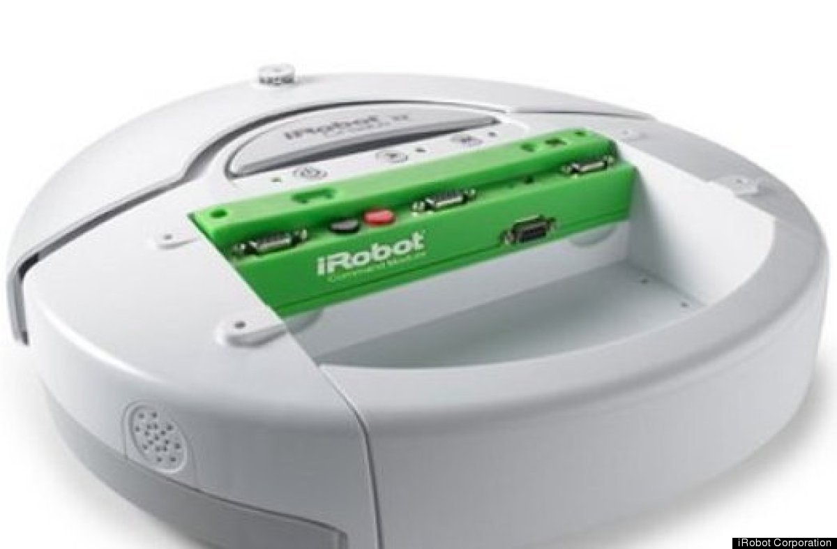 """""""Create was designed by iRobot based on the Roomba platform and was introduced in 2007. It is a robot platform for educators,"""