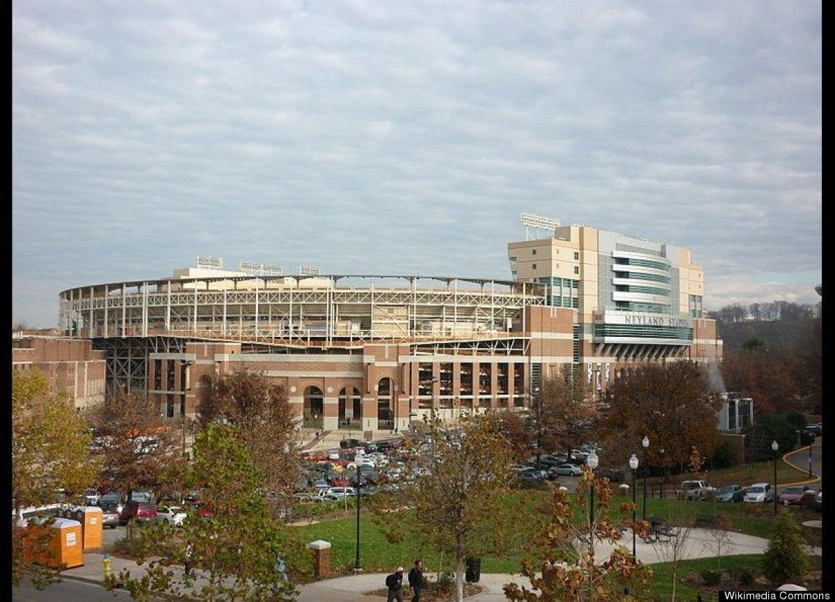 "Knoxville, Tenn.  Photo Credit: <a href=""http://en.wikipedia.org/wiki/File:Neyland_Stadium_2010.JPG"" target=""_hplink"">Ecans"