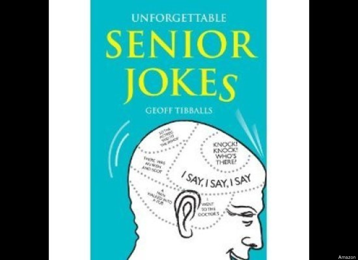 Author Geoff Tibballs is no stranger to telling jokes about aging. He has penned several laugh-worthy books on the topic, inc