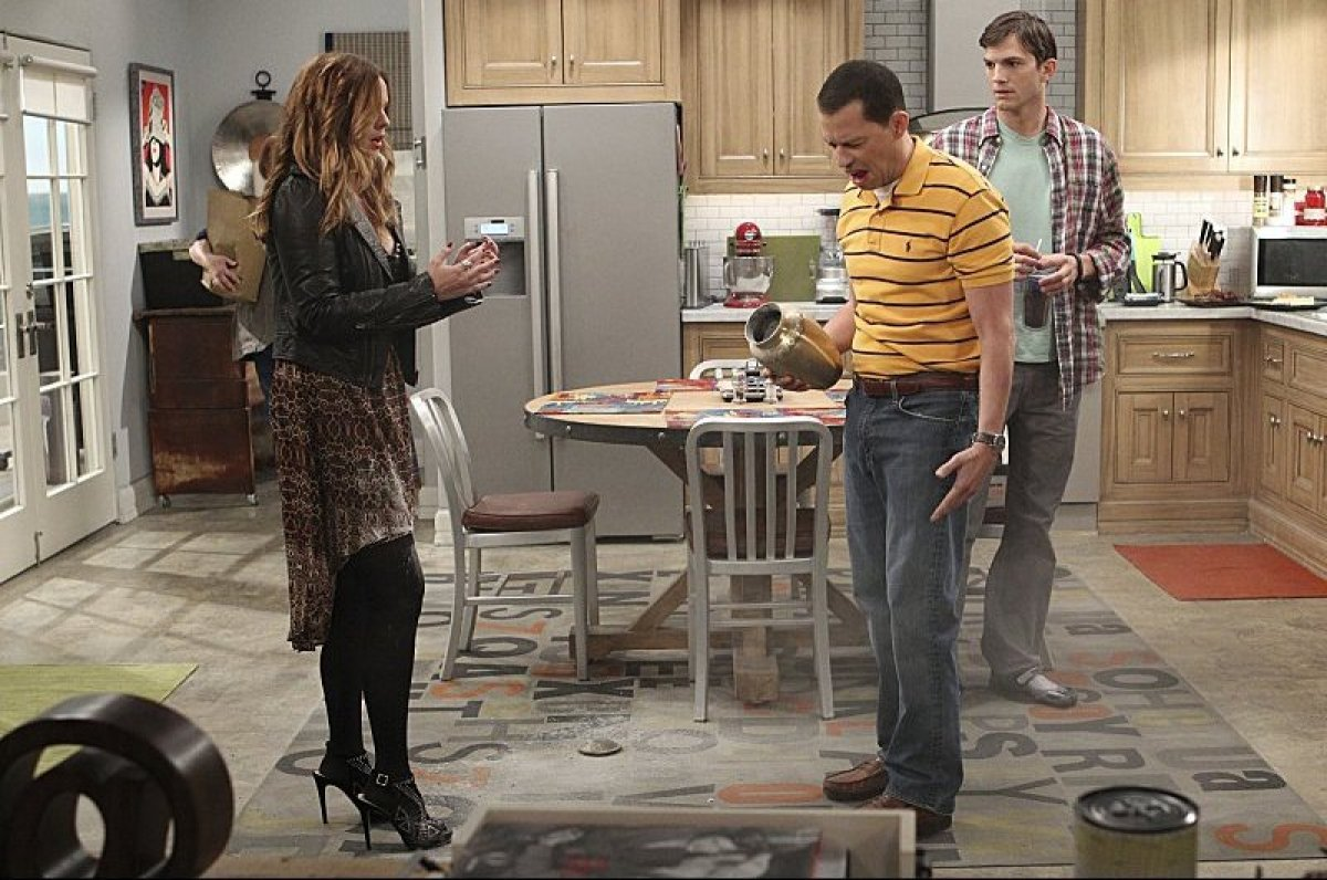 Two And A Half Men' Takes A Dig At Charlie Sheen With Wild Partying Two And A Half Men House Design on modern family house design, ghost whisperer house design, greek house design, family guy house design,