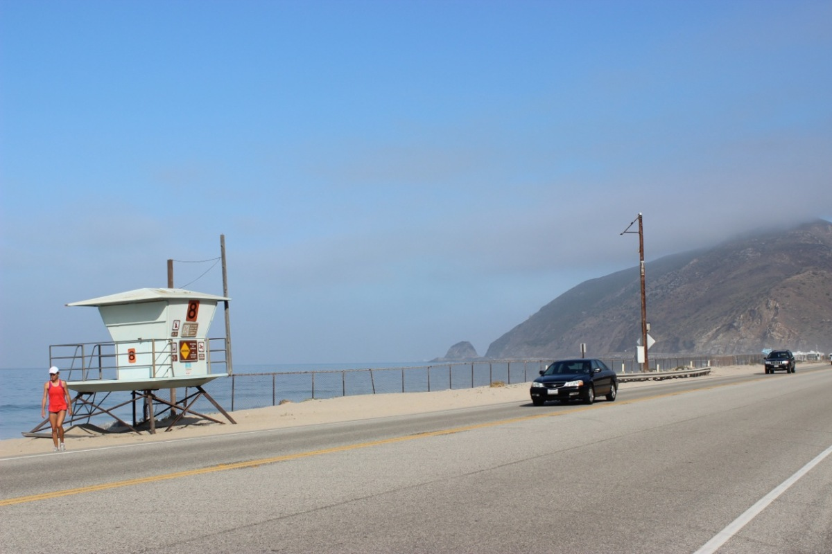 The Pacific Coast Highway, Malibu. California Living! July 30th, 2012... The start of my journey to Big Sur.