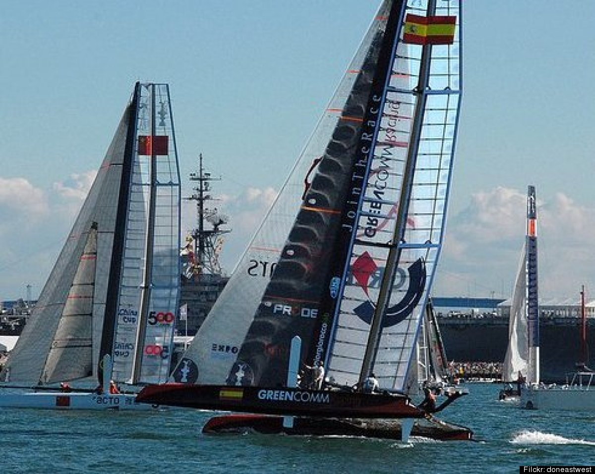 The finals don't arrive for almost a year, but the America's Cup festivities officially get under way this week with a weekl