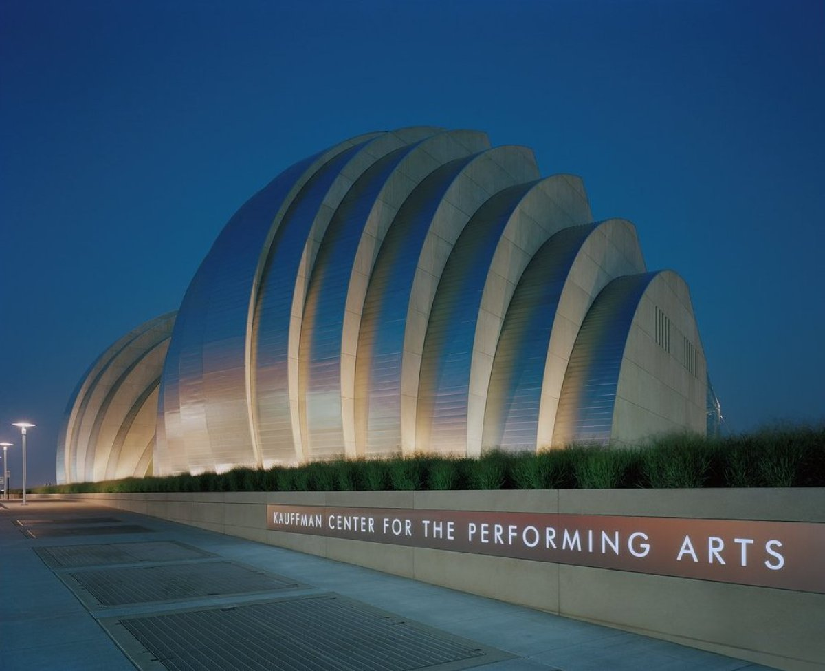 At the Kauffman Center for the Performing Arts, you'll find the performance home of the Kansas City Ballet and Lyric Opera of